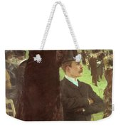 The Races At Auteuil Weekender Tote Bag