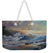 The Radiant Sea Weekender Tote Bag