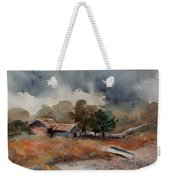 The Rain Is Coming Weekender Tote Bag