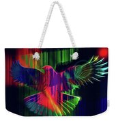 The Rainbow Dove  Weekender Tote Bag