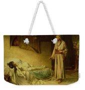 The Raising Of Jairus's Daughter Weekender Tote Bag