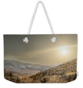 The Range, White Mountains  Weekender Tote Bag