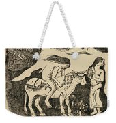 The Rape Of Europa Weekender Tote Bag