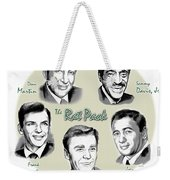 The Rat Pack Weekender Tote Bag by Greg Joens