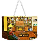 The Reading Room Weekender Tote Bag