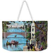 The Reception Of Benjamin Franklin In France Weekender Tote Bag by War Is Hell Store