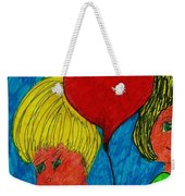 The Red Balloon  Weekender Tote Bag