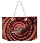 The Red Bird Weekender Tote Bag