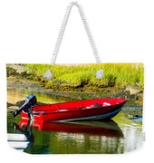 The Red Boat Weekender Tote Bag