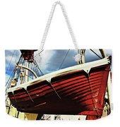 The Red Boat Weekender Tote Bag