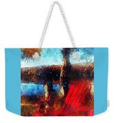 The Red Chair Weekender Tote Bag