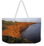 The Red Cliffs Of Prince Edward Island Weekender Tote Bag