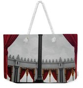 The Red Curtain Weekender Tote Bag