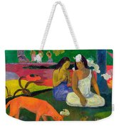 The Red Dog Weekender Tote Bag
