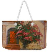 The Red Door - Catalina Island Weekender Tote Bag