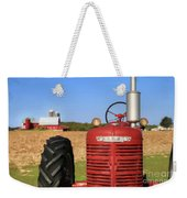 The Red Farmall Weekender Tote Bag