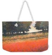 The Red Field #2 Weekender Tote Bag