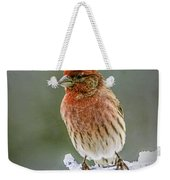 The Red Finch Weekender Tote Bag