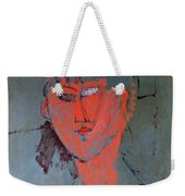 The Red Head Weekender Tote Bag by Amedeo Modigliani