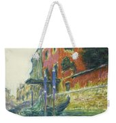 The Red House Weekender Tote Bag by Claude Monet