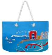 The Red House  La Casa Roja Weekender Tote Bag