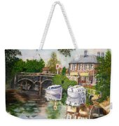 The Red Lion Inn By The Riverbank Weekender Tote Bag