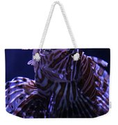 The Red Lionfish Weekender Tote Bag