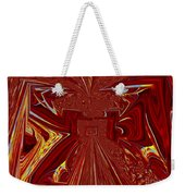 The Red Palace In Abstract Weekender Tote Bag