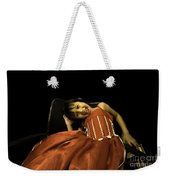 The Red Party Dress Weekender Tote Bag