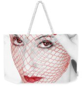 The Red Realm - Self Portrait Weekender Tote Bag