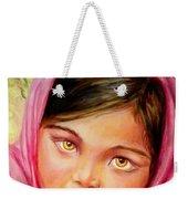 Brown Eyes Weekender Tote Bag