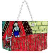 The Red Shed Club House That Dad Built Weekender Tote Bag
