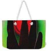 The Red Sun Weekender Tote Bag