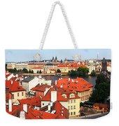 The Red Tile Roofs Of Prague Weekender Tote Bag