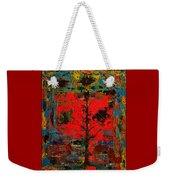 The Red Tree -or- Paint Weekender Tote Bag