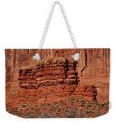 The Red Wall Weekender Tote Bag