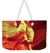 The Reddish Yellow Path Weekender Tote Bag