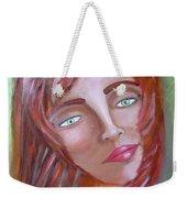 The Redhead Weekender Tote Bag