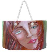 The Redhead Weekender Tote Bag