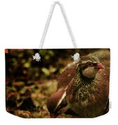 The Redlegged Partridges Weekender Tote Bag