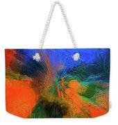 The Reef In Watercolor Abstract Weekender Tote Bag