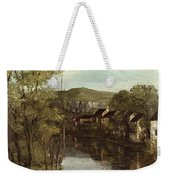 The Reflection Of Ornans Weekender Tote Bag