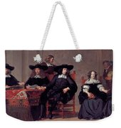 The Regents Of The Old Men And Women Hospital In Amsterdam Weekender Tote Bag