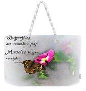 The Reminder Weekender Tote Bag