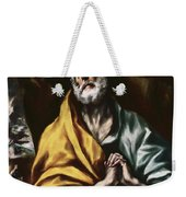 The Repentant Saint Peter Weekender Tote Bag