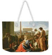 The Rest On The Flight Into Egypt Weekender Tote Bag