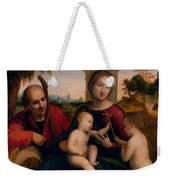 The Rest On The Flight Into Egypt With St. John The Baptist Weekender Tote Bag