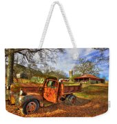 The Resting Place 2 Farm Life 1947 Dodge Dump Truck Art Weekender Tote Bag