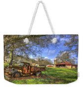 The Resting Place Shadows Weekender Tote Bag