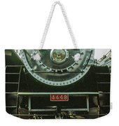 The Restored Southen Pacific Daylight Locomotive No. 4449 Weekender Tote Bag by Frank DiMarco